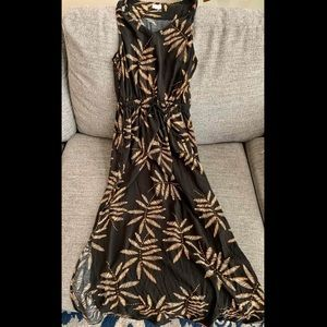 Tropical Maxi Dress Size Small
